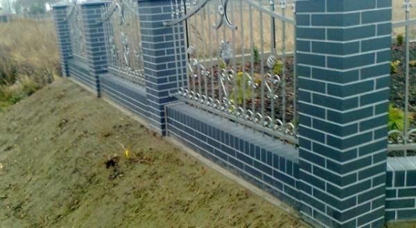 ogrodzenia a'la klinkier